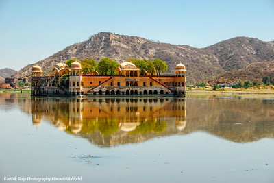 Man Sagar Lake, Jal Mahal, Jaipur, Rajasthan, Incredible India