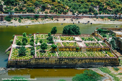 Kesar Kyari Garden, Amer Fort, Amber Palace, Jaipur, Rajasthan, Incredible India