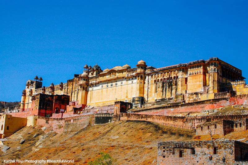 Amer Fort, Amber Palace, Jaipur, Rajasthan, Incredible India