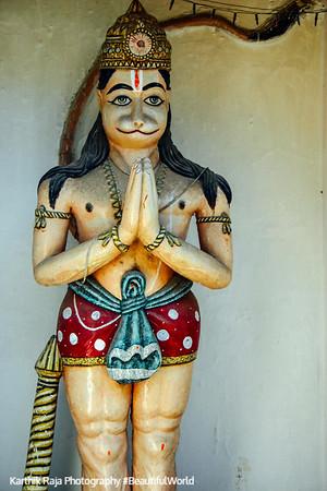 Hanuman - the Mighty God, Rishikesh, Uttaranchal, India