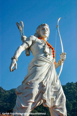 Lakshman - the perfect brother, Rishikesh, Uttaranchal, India