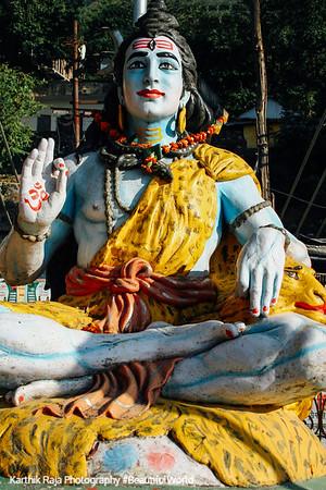 Shiva - The Destroyer, Rishikesh, Uttaranchal, India