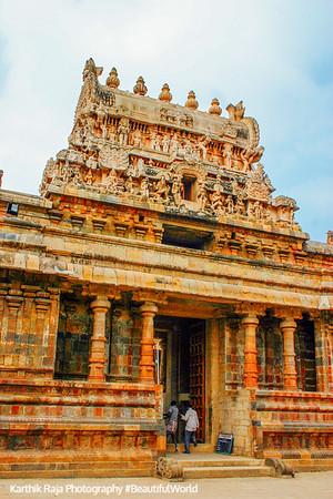 Airavateswara temple, Rajaraja Chola II, 12th century AD, Darasuram, Tamil Nadu, India