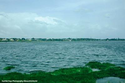 Amaravathy River, Dharapuram, Tamil Nadu