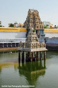 Kamakshi temple tank, Kamakshi Amman temple, Kanchipuram, India