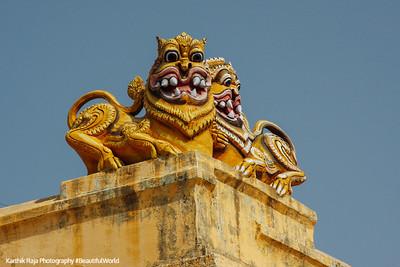 Kamakshi Amman temple, Kanchipuram, India
