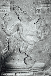 Hall of 100 pillars - Vishnu, Varadaraja Perumal Temple, Kanchipuram, India