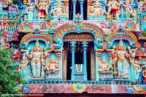 Guarding the entrance, Adi Kumbeswarar Temple, Kumbakonam, India