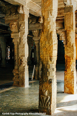 Pillored hall, Sarangapani Temple, Kumbakonam, India