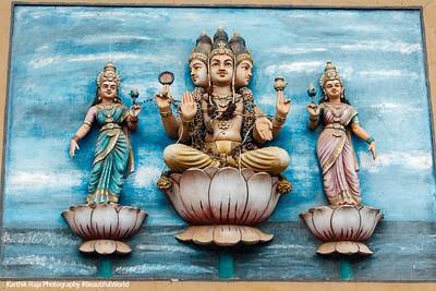 Brahma, Meenakshi temple, Madurai, India