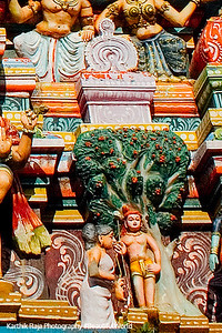 Muruga and Avvaiyar, Pazhamudhircholai Temple, Madurai, India