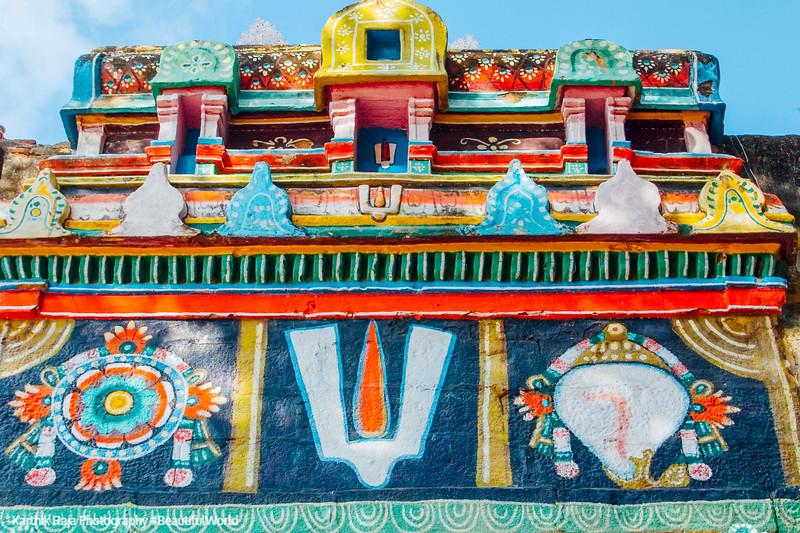 Entrance to Azhagarcoil, Madurai, India