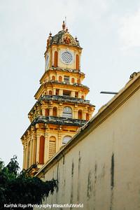 The tower within the Thirumalai Nayakkar Palace, Madurai