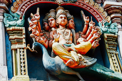 Lord Muruga, Meenakshi temple, Madurai, India