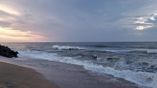 Mahabalipuram Bay of Bengal video