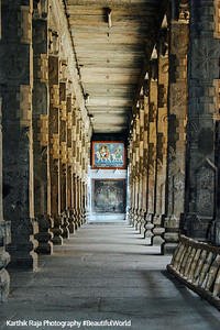 A ladder to infinity, Sri Jambukeshwarar Akilandeswari Temple, Thiruvanaikoil, Srirangam, Tiruchirapalli (Trichy)