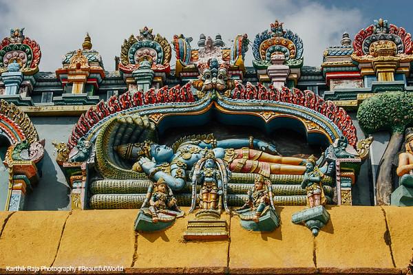 Lord Vishnu, Sri Ranganathaswamy Temple, Srirangam, Tiruchirapalli (Trichy)