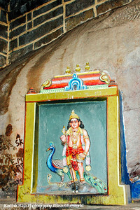 Muruga at the Rock Fort, Tiruchirapalli (Trichy)