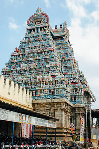 The main entrance, Sri Ranganathaswamy Temple, Srirangam, Tiruchirapalli (Trichy)