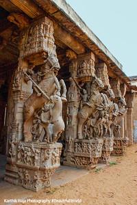 Horse Court, Sri Ranganathaswamy Temple, Srirangam, Tiruchirapalli (Trichy)