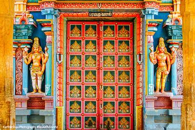 Parmapadam vasal - Door to heaven, Sri Ranganathaswamy Temple, Srirangam, Tiruchirapalli (Trichy)