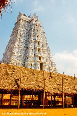 The Vellagopuram, Sri Ranganathaswamy Temple, Srirangam, Tiruchirapalli (Trichy)