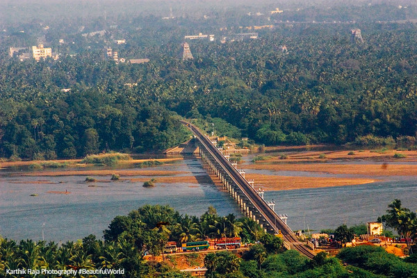 Bridge across the River Cauvery, Tiruchirapalli (Trichy)