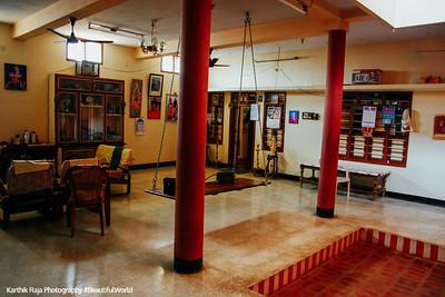 Open courtyard house, Umayalpuram,Tamil Nadu