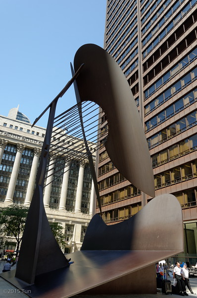 Independence Day 2015 at Chicago's Daley Plaza