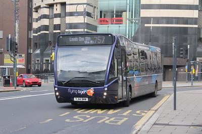 Yorkshire Tiger 792 City Square Leeds Nov 19