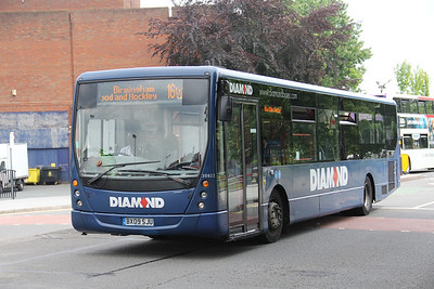 Diamond Bus Birmingham 30823 West Bromwich Ringway Jun 18