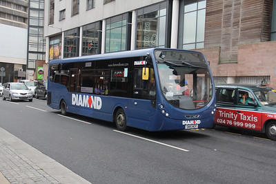 Diamond Bus Birmingham 30165 Hales Street Coventry Sep 17