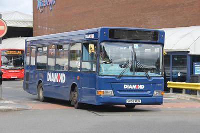 Diamond Bus Birmingham 21008 West Bromwich Ringway Sep 17