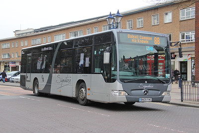 Diamond Bus Birmingham 30401 Station Road Solihull 2 Apr 14