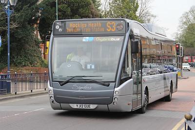 Diamond Bus Birmingham 30127 Station Road Solihull Apr 14