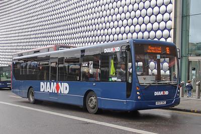 Diamond Bus Birmingham 30828 Moor Street Birmingham Sep 17
