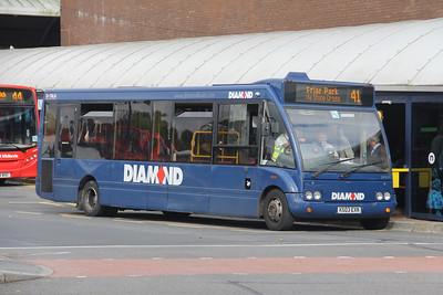 Diamond Bus Birmingham 20539 West Bromwich Bus Station Sep 17