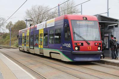 Midland Metro 13 West Bromwich Station Apr 14