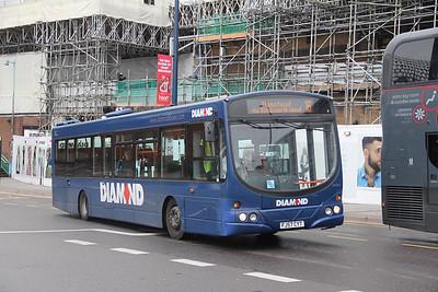 Diamond Bus Birmingham 30509 Moor Street Queensway Birmingham Sep 17