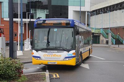 Johnsons Henley in Arden YT13HKY Moor Street Queensway Birmingham Sep 17