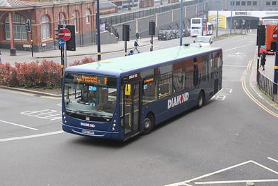 Diamond Bus Birmingham 30000 Moor St Birmingham Apr 14