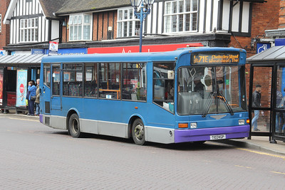 Sunny Travel Willenhall T102KGP Station Road Solihull Apr 14