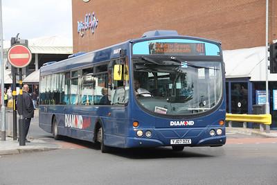 Diamond Bus Birmingham 30411 West Bromwich Ringway Sep 17