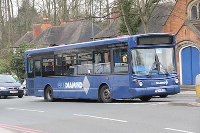 Diamond Bus Birmingham 20274 B4012 Solihull Apr 14