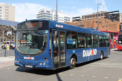 Diamond Bus Birmingham 30861 St Martins Queensway Jun 18