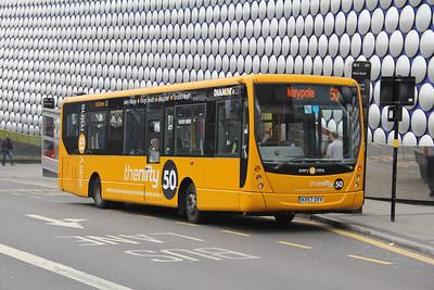 Diamond Bus Birmingham 30804 Moor St Birmingham Apr 14