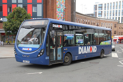 Diamond Bus Birmingham 32215 Hales Street Coventry Sep 17