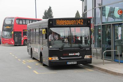 Diamond Bus Birmingham 20906 Stourbridge Interchange Apr 14