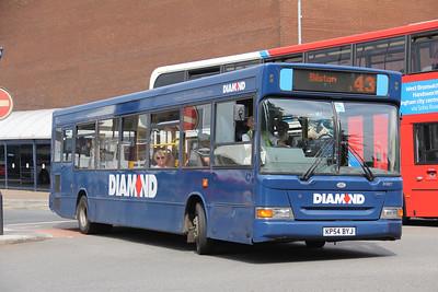 Diamond Bus Birmingham 30887 West Bromwich Ringway Jun 18