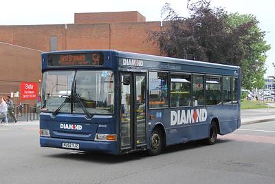 Diamond Bus Birmingham 20602 West Bromwich Ringway Jun 18